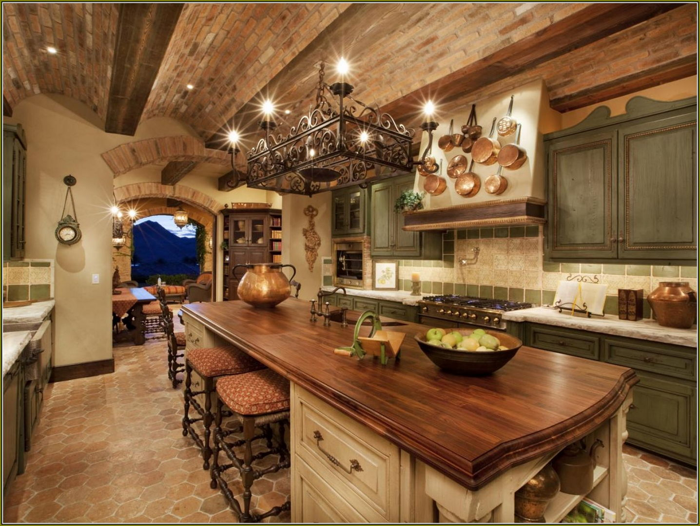 Weizter Magazine | Weizter Kitchens on traditional italian kitchen, lattice on ceiling kitchen, italian country kitchen, house decorations for kitchen, decorating on top shelf in kitchen,