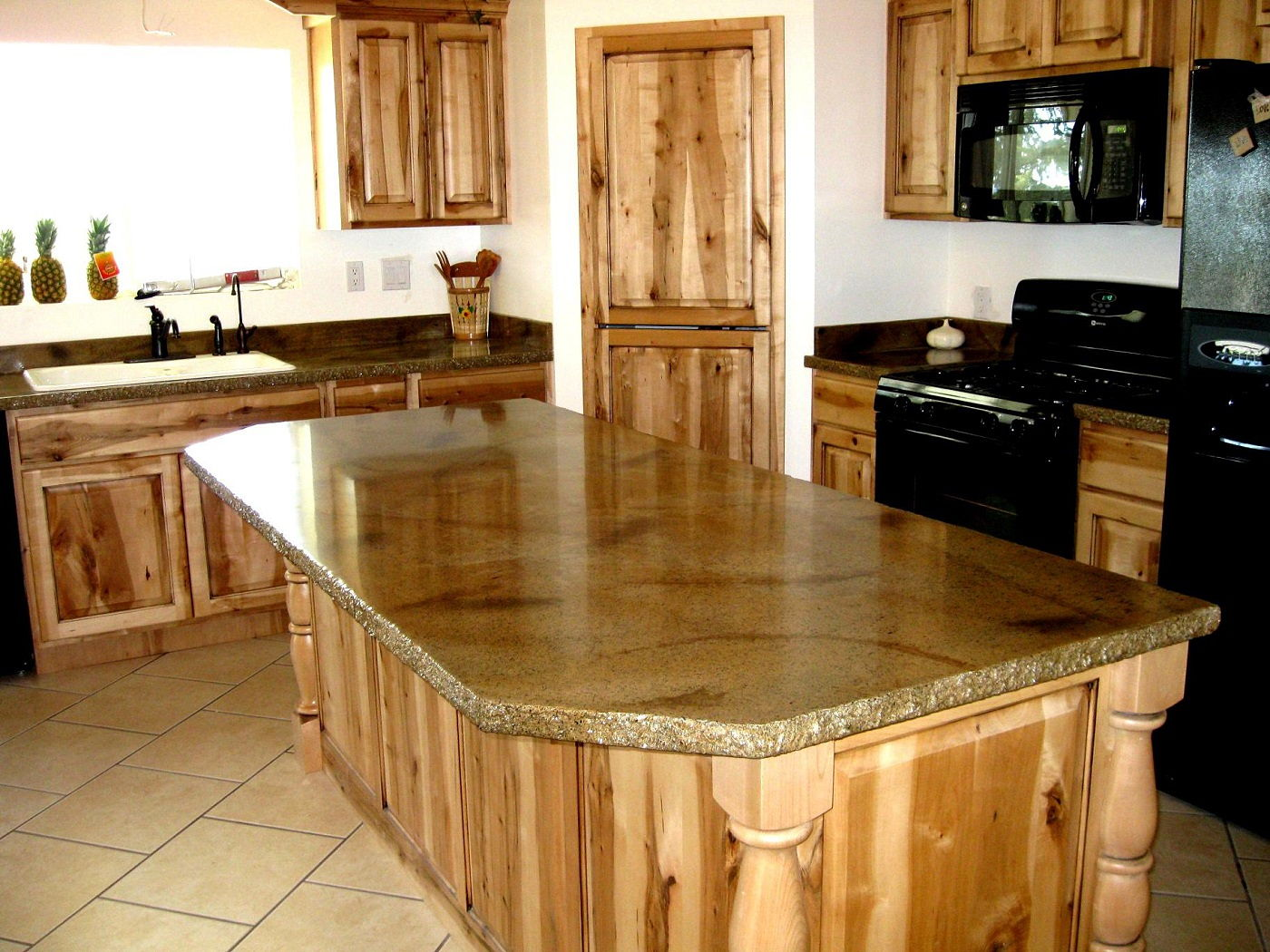Wooden Counter Tops Weizter Kitchens